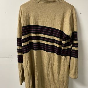 UO Lais Womens Cardigan Sweater Beige L NWT